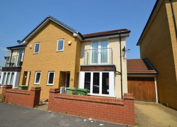 Thumbnail 3 bed semi-detached house for sale in Hunsbury Chase, Broughton, Milton Keynes