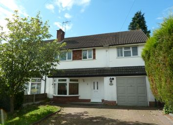 Thumbnail 4 bed semi-detached house to rent in Trinity Road, Four Oaks, Sutton Coldfield