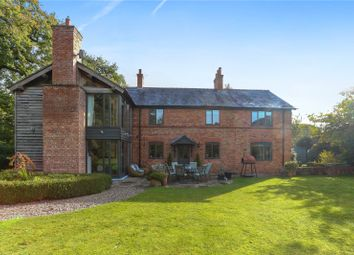 Thumbnail 5 bed detached house for sale in Tiverton Heath, Tiverton, Tarporley, Cheshire