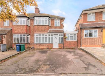 Thumbnail 3 bed semi-detached house for sale in Parsons Crescent, Edgware