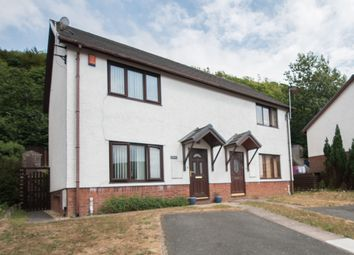 Thumbnail 2 bed semi-detached house to rent in Maes Crugiau, Rhydyfelin, Aberystwyth