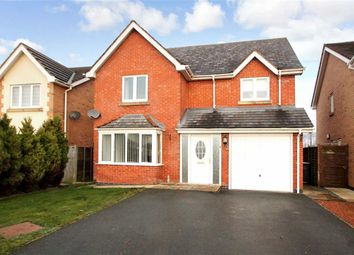 Thumbnail 4 bed detached house for sale in Long Croft, Weston Rhyn, Oswestry