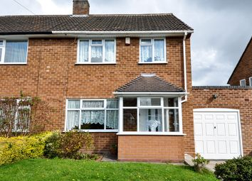 Thumbnail 3 bed semi-detached house for sale in Wirral Road, Bournville Village Trust, Birmingham