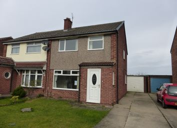 Thumbnail 3 bed semi-detached house for sale in Marykirk Road, Thornaby, Stockton-On-Tees