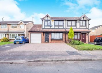 Thumbnail 3 bedroom semi-detached house for sale in Stocker Avenue, Alvaston, Derby, Derbyshire