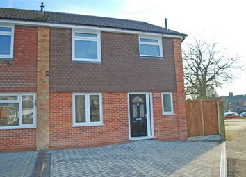 Thumbnail 3 bed end terrace house for sale in Franklin Gardens, Hitchin, Hertfordshire