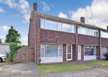 Thumbnail 3 bedroom end terrace house for sale in Rhodaus Close, Canterbury, Kent