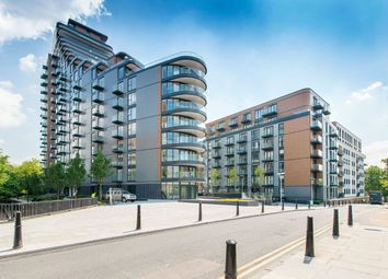 Thumbnail 1 bed flat to rent in Cobblestone Square, London