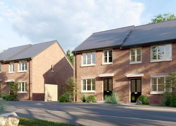 Thumbnail 2 bedroom semi-detached house for sale in Pottery Gardens, Denby, Ripley