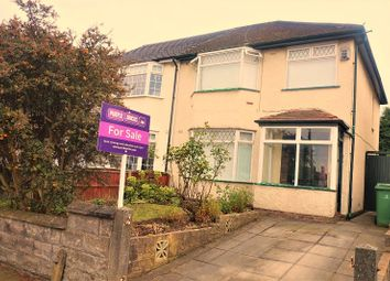 Thumbnail 3 bed semi-detached house for sale in Rudston Road, Liverpool