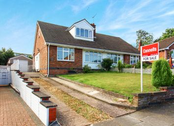 Thumbnail 3 bed semi-detached bungalow for sale in Wellesbourne Road, Coventry