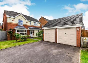 Thumbnail 4 bed detached house for sale in Rushes Mill, Pelsall, Walsall, West Midlands