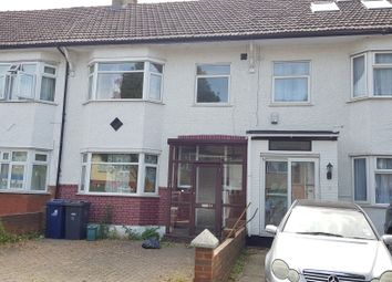 Thumbnail 3 bed terraced house to rent in Wesley Avenue, London NW107Bn