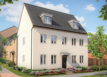 """Thumbnail 5 bed detached house for sale in """"The Warwick"""" at Irthlingborough Road, Wellingborough"""