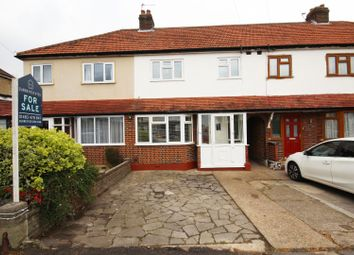 Thumbnail 3 bed terraced house for sale in Compton Crescent, Chessington