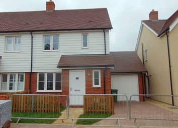 Thumbnail 3 bed semi-detached house to rent in Cricketers Field, Northiam, Rye