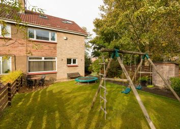 Thumbnail 4 bed semi-detached house for sale in Clerwood Park, Corstorphine, Edinburgh