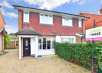 Thumbnail 2 bed semi-detached house for sale in Oakdene Road, Brockham, Surrey