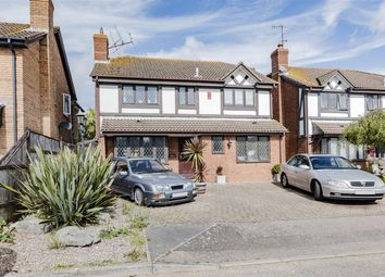 Thumbnail 4 bed detached house for sale in Gatcombe Close, Worthing, West Sussex