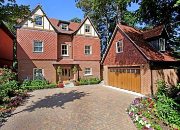 Thumbnail 5 bedroom detached house to rent in Queensbury Gardens, Ascot
