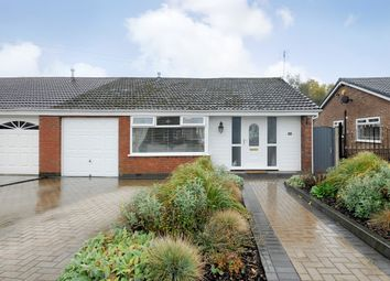 Thumbnail 3 bed semi-detached bungalow for sale in Winfrith Road, Fearnhead, Warrington