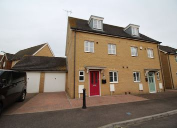 Thumbnail 4 bed semi-detached house to rent in Samuel Drive, Kemsley, Sittingbourne