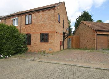 Thumbnail 3 bedroom semi-detached house to rent in Maynard Close, Bradwell Village, Milton Keynes, Bucks