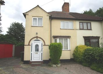 Thumbnail 3 bedroom semi-detached house for sale in Crowther Grove, Wolverhampton