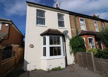 Thumbnail 3 bed semi-detached house for sale in Milton Road, Egham