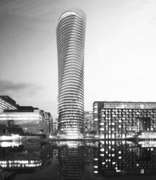 Thumbnail 3 bedroom flat to rent in Baltimore Tower, Crossharbour Plaza, Canary Wharf E14, Canary Wharf