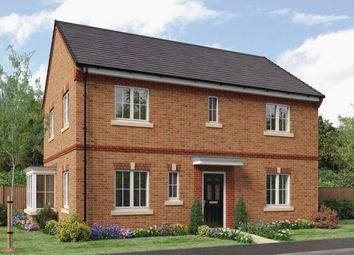 Thumbnail 4 bed detached house for sale in The Stevenson, Barley Meadows, Cramlington, Northumberland