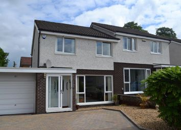 Thumbnail 3 bed semi-detached house for sale in Afton Drive, Renfrew