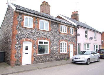 Thumbnail 2 bed end terrace house for sale in College Road, Framlingham, Woodbridge