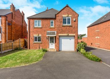 Thumbnail 4 bed detached house for sale in Hensons Lane, Thringstone, Coalville