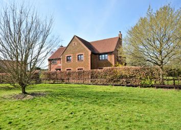 Thumbnail 5 bed detached house for sale in Chapel Road, Pott Row, King's Lynn