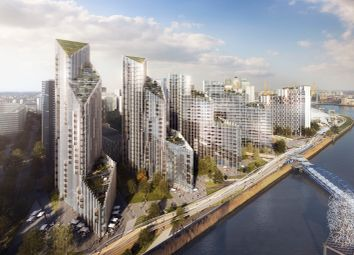 Thumbnail 3 bed flat for sale in Upper Riverside, Greenwich Peninsula, London