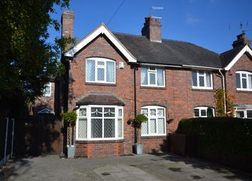 Thumbnail 4 bed semi-detached house for sale in Sneyd Crescent, Newcastle-Under-Lyme