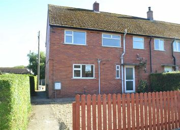 Thumbnail 3 bed end terrace house for sale in 9, Tremynoddfa, Carno, Caersws, Powys
