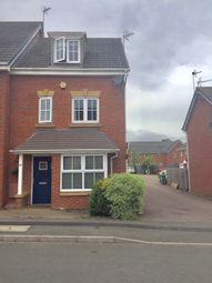 Thumbnail 4 bedroom town house for sale in Tuffleys Way, Thorpe Astley, Leicester