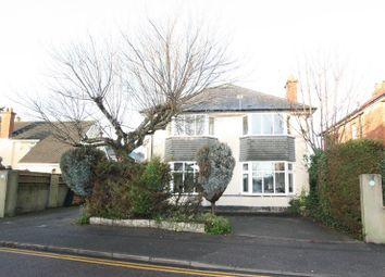 Thumbnail 4 bed detached house for sale in Stokewood Road, Winton, Bournemouth