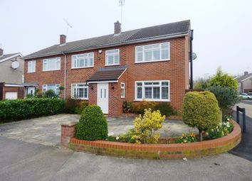 Thumbnail 5 bed semi-detached house for sale in Heath Drive, Ware