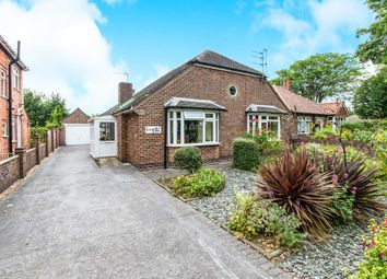 Thumbnail 3 bed detached bungalow for sale in Burgh Road, Skegness