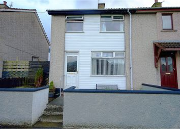 Thumbnail 3 bed end terrace house for sale in Ballywalter Gardens, Bangor