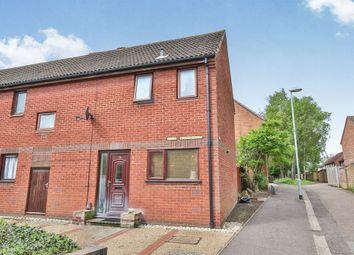 Thumbnail 2 bedroom semi-detached house for sale in Skoner Road, Norwich