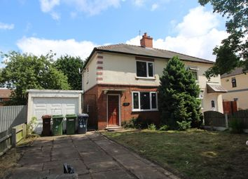 Thumbnail 2 bed semi-detached house for sale in Wood Avenue, Wolverhampton