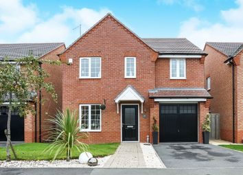 Thumbnail 4 bed detached house for sale in Brackley Crescent, Warwick
