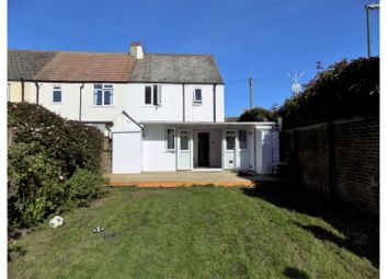 Thumbnail 4 bed end terrace house for sale in Old Shoreham Road, Shoreham-By-Sea