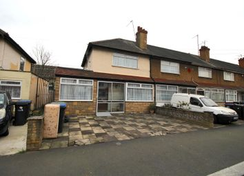 Thumbnail 3 bed end terrace house for sale in Middleham Road, Edmonton