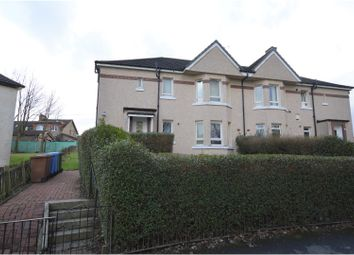 Thumbnail 3 bed flat for sale in Langdale Avenue, Glasgow