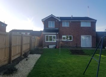 Thumbnail 4 bed detached house to rent in Ludlow Close, Leicester